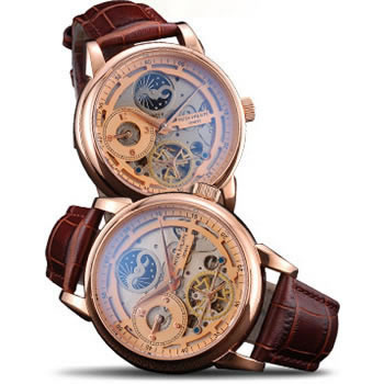 Dual-Time Moonphase Tourbillon Gold
